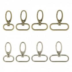 Mousqueton X1pièce - Disponible en 2 coloris et 4 tailles