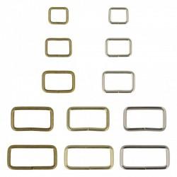 Passant Metal x 2 pièces - Disponible en 5 tailles et 3 coloris