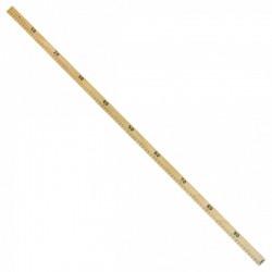 Règle Bois 1 metre - 20 x 25 mm