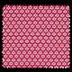 Tissu Imprimé Paquerette Fuchsia