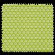 Tissu Imprimé Paquerette Anis