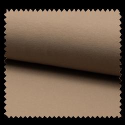 Tissu Tricot Luxe Uni Noisette