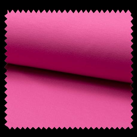 Tissu Tricot Luxe Uni Rose