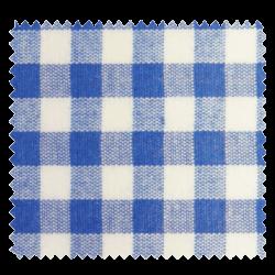 Tissu Vichy DENVER bleu