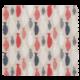 Tissu Poissons Coloris Lin