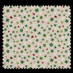 Coupon Trefles Coloris Lin 100x140