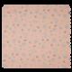Tissu Popeline Imprime Mini Souris Vieux Rose