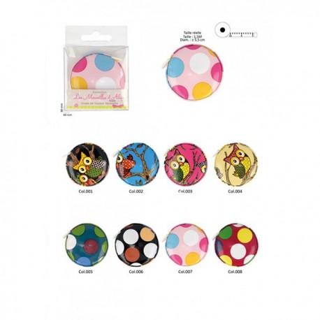 Metre Ruban - Disponible en 2 dessins et 4 coloris
