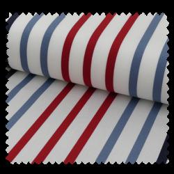 Tissu Toile Transat Playa Petit Bateau Rouge