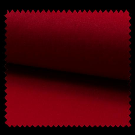 Tissu Manteau Caban Uni Rouge