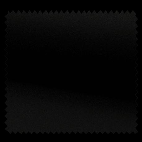 Tissu Manteau Caban Uni Noir
