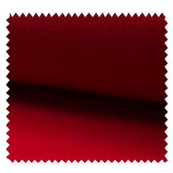Tissu Polaire Uni Rouge
