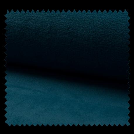 Tissu Polaire Uni Pétrole