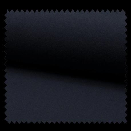 Tissu Crepe Extensible Uni Marine