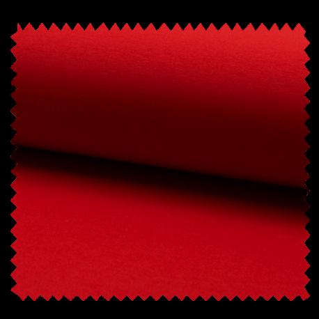 Tissu Jogging Uni Rouge