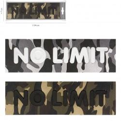 """Ecusson Xl army """"no limit"""""""
