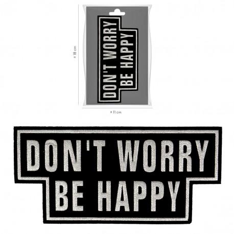 Ecusson be happy