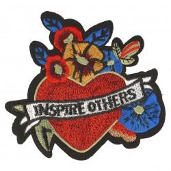 Ecusson Xl patch coeur inspire