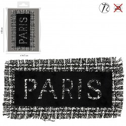 Ecusson Xl patch franges paris