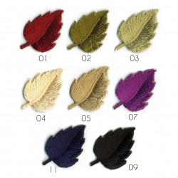 Ecusson Feuilles colorées