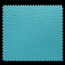 Tissu Simili Cuir Karia Turquoise