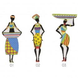 Ecusson Femme africaine