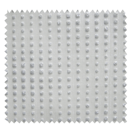 Tissu Simili Cuir Diamond Blanc