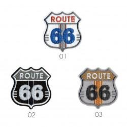 Ecusson Route 66 4x4,5cm