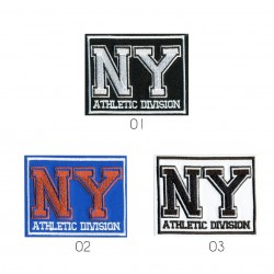 Ecusson ny athletic 7,5x5,5