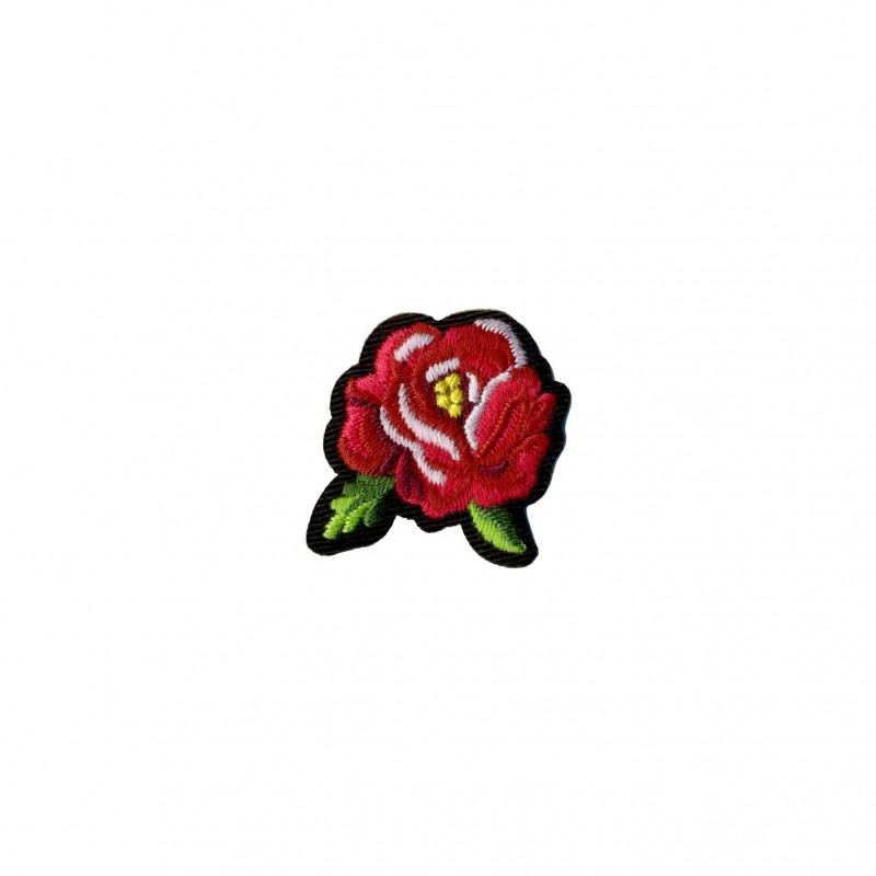Ecusson Rose 4x3cm