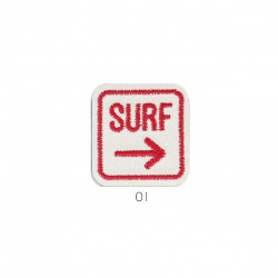 Ecusson Surf paillettes 3,5x3,5