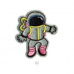 Ecusson Astronaute7,5x6cm