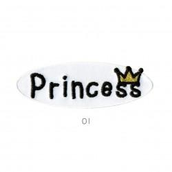 Ecusson Princess 2,5x8cm