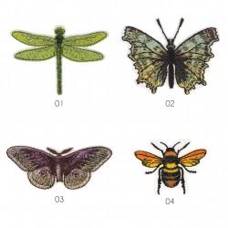 Ecusson insectes