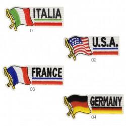Ecusson drapeau