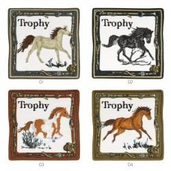 Ecusson cheval trophy