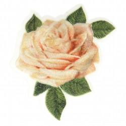 Ecusson rose