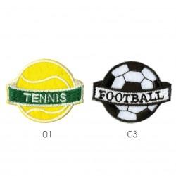 Ecusson Ballon sport