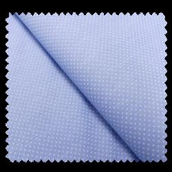 Tissu Coton Imprimé Pois Bleus