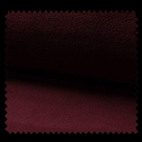 Tissu Polaire Uni Bordeaux