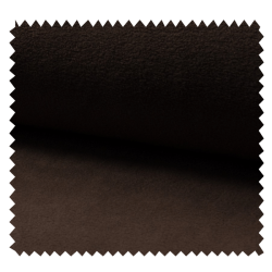 Tissu Polaire Uni Choco