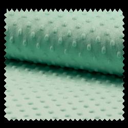 Tissu Minky Bubble Menthe