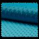 Tissu Minky Bubble Turquoise