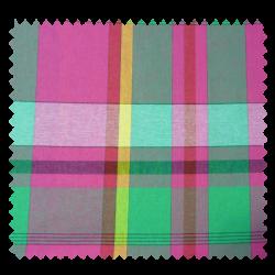Tissu Madras Vert
