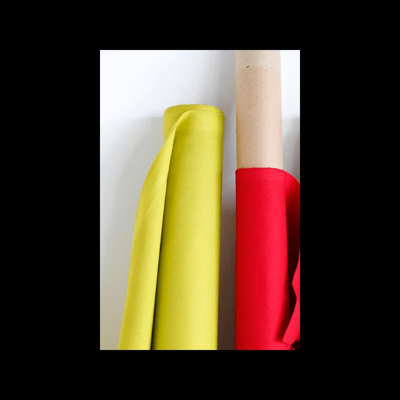tissu serge turquoise tissus des ursules. Black Bedroom Furniture Sets. Home Design Ideas