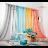 Rideau A Oeillets Corinthe - 8 Coloris