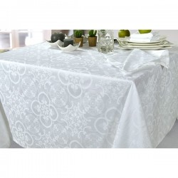 Serviette de Table Faro Jacquard Ecume
