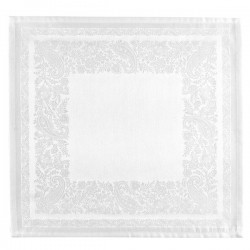 Serviette de Table Trento Jacquard Neige