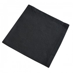 Serviette de Table Brunch Noir