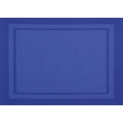 Set de Table Yuco Encadré PVC Indigo
